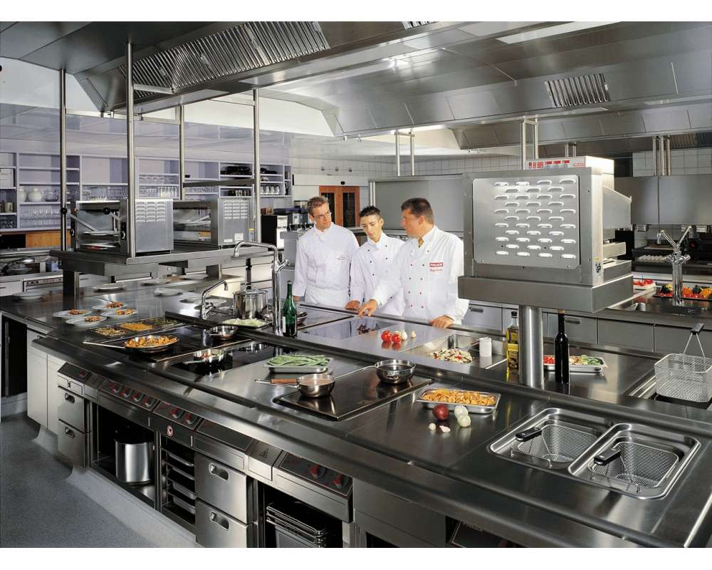 Виды оборудования для ресторана