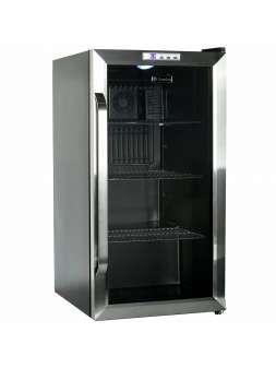 Холодильник барный со стеклянной дверью Gemlux GL-BC88WD