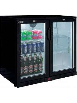 Барный холодильник со стеклянной дверью Saro BC 208