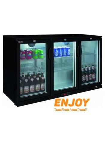 Холодильник барный со стеклянной дверью Saro BC 330