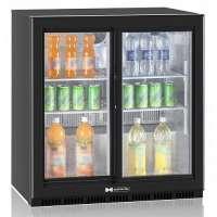 Барный холодильник для напитков Hurakan HKN-DB205S