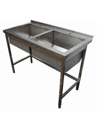 Ванна мийна 2-х секційна 1200х600х850
