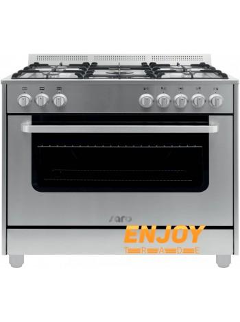 Газовая плита профессиональная Saro TS95C61LX