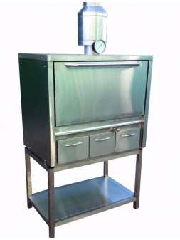 Угольная печь хоспер ПДУ-1000