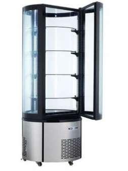 Витрина холодильная кондитерская круглая Frosty ARC-400R