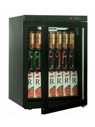 Холодильна шафа Polair DM102-Bravo чорна с замком
