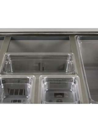 Холодильний стіл саладета GGM Gastro SAG97N