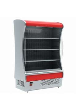 Холодильная витрина горка Polus BXCп-1,3