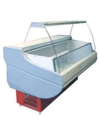 Холодильная витрина Siena шириной 1,1 м с выпуклым стеклом