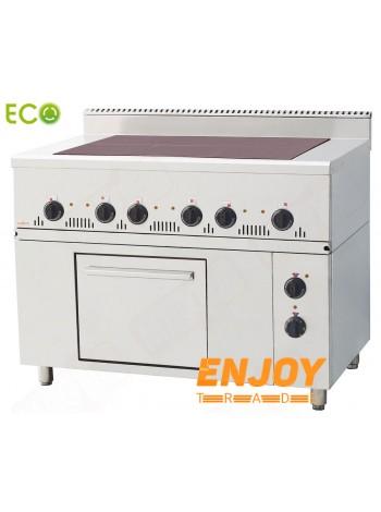 Плита электрическая промышленная Orest ПЭ-6-Ш(0,54) 700 Еco