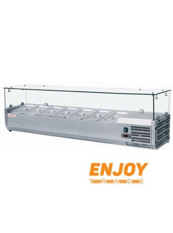 Витрина холодильная для топпинга Frosty VRX1600/380