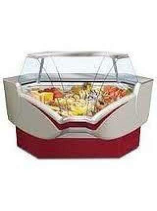 Холодильная витрина Belluno угловая внутренняя шириной 1,1 м