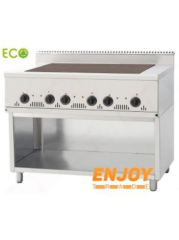 Плита электрическая промышленная Orest ПЭ-6-Н (0,54) 700 Еco