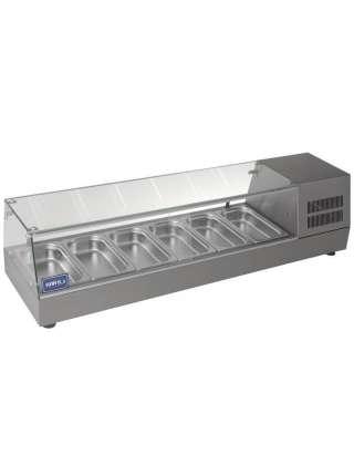 Витрина холодильная (суши кейс) Кий-В ВХН-6-1400