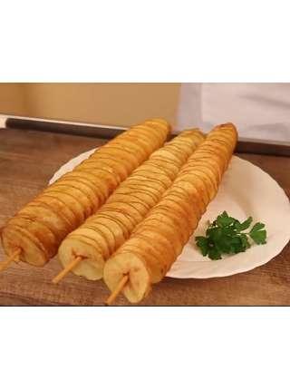 Слайсер для нарезки картошки чипсами GoodFood VC01